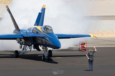 Blue Angel 6 and Ground Crew