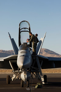 Pilot and Super Hornet
