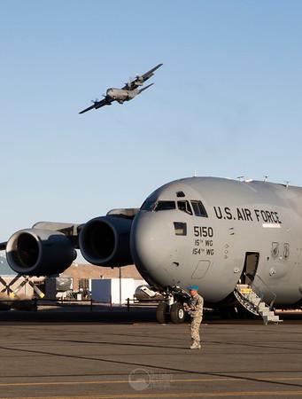 C-130H Hercules, C-17 Globemaster III