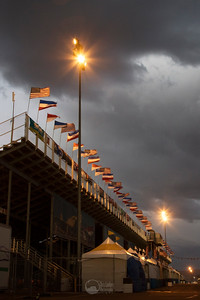 Stands and Flags