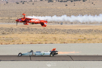 Lucas Oil Pitts and the JetCar