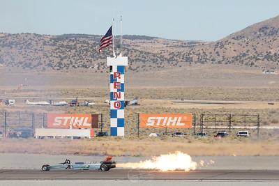 Smoke-n-Thunder JetCar and Home Pylon