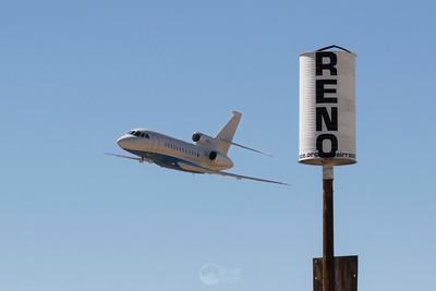Dassault Falcon 900EX Pylon Pass