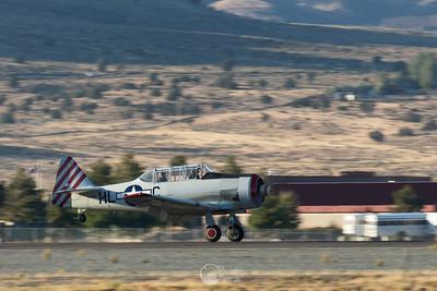T-6 Pace Plane Landing