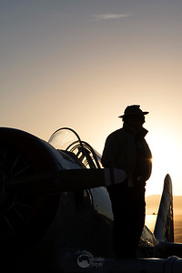 Watchful at Dawn. T-6 Pace Plane