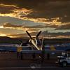 Sunset. 924G, Race 924