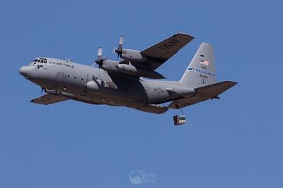 C-130H Hercules Cargo Drop