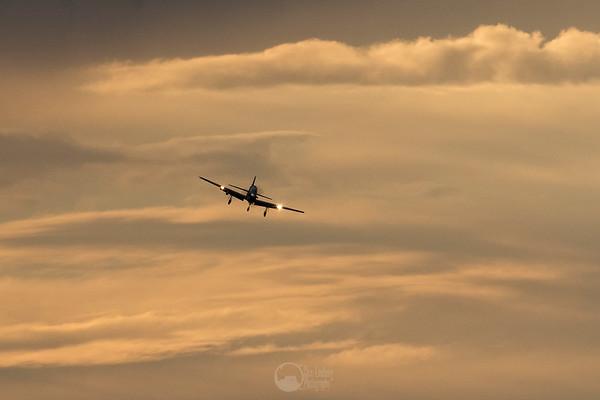 Sunset Final Approach