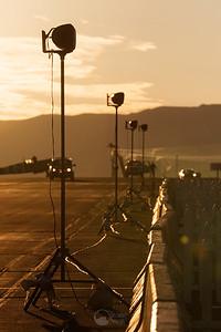 Speaker Line at Dawn