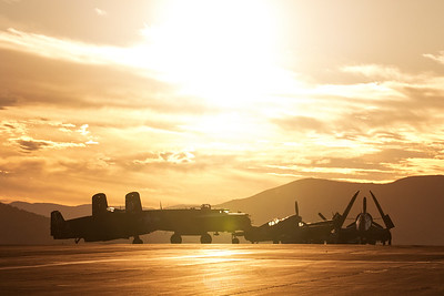 Texas Flying Museum and the Reno Dawn