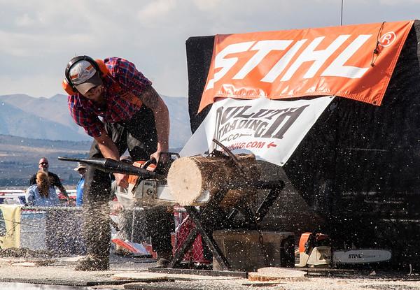 Stihl Timbersports Demo - Hot Saw