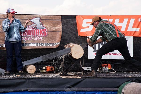 Stihl Timbersports Demo - Single Buck