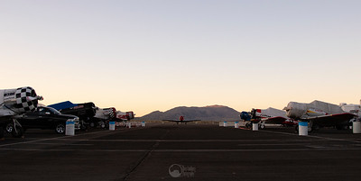 T-6 Pits at Sunset