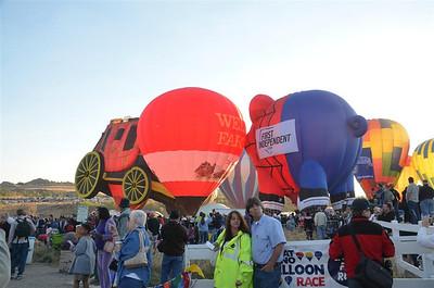 Wells Fargo Balloon
