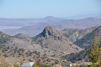Looking East from Virginia City - October 18, 2013