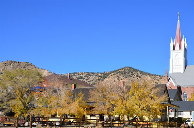 Train Depot in Virginia City - October 18, 2013