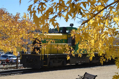 Diesel Engine of the Virginia And Truckee Rail Road - October 18, 2013