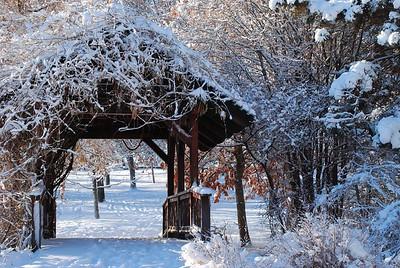 Snowy Covered Bridge, Rancho San Rafael