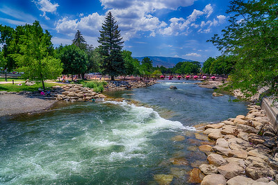 Summer Day in Reno Nevada