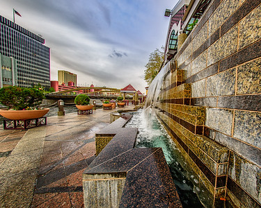 Fountain on the River Walk
