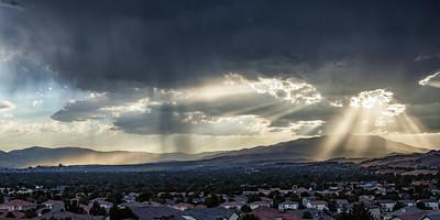 Peavine and the Reno Skyline 9579