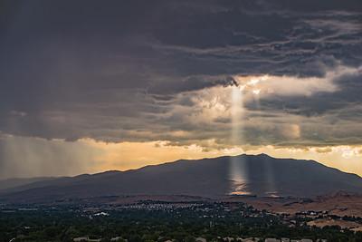 Storm Breaks over Peavine 9533