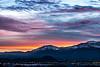 Sunset over Slide Mountain