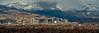 Fall Snow over the Reno Skyline, Pano