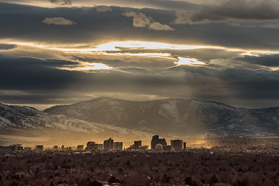 Reno Skyline backlit 1873