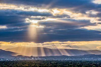 Rays over Reno