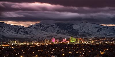 Reno Skyline Pano 1278