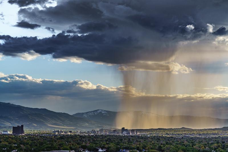 Rain for Reno