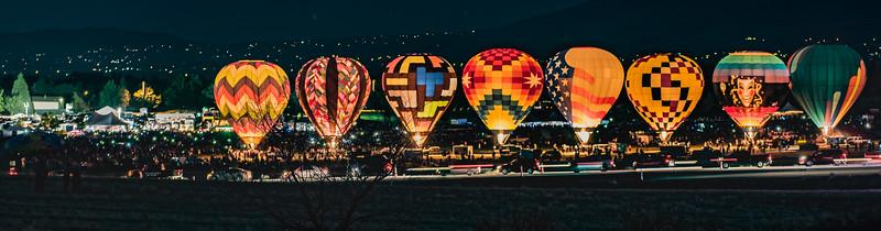 balloon races 2017 glow show 0731