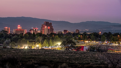 Waiting for Sunrise, 2015 Reno Balloon Races