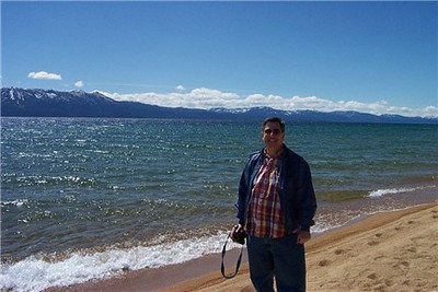 One afternoon, we took a daytrip out of Reno to drive up to the lake.<br /> [Lake Tahoe]