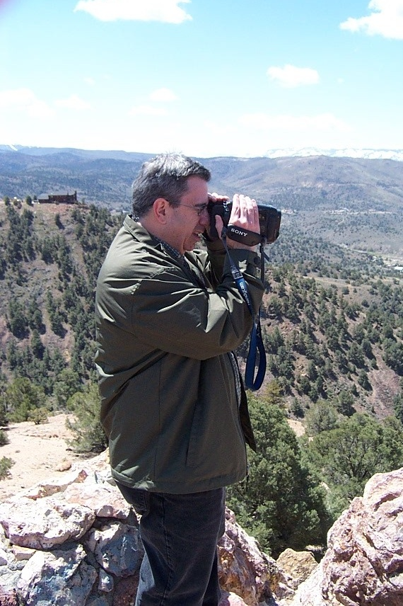 Dave videotaped the scenery.<br /> [South of Reno]