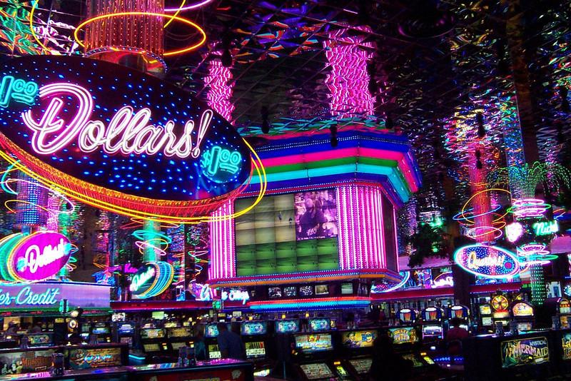 Part of the Peppermill's casino.  Love the neon!<br /> [Reno]
