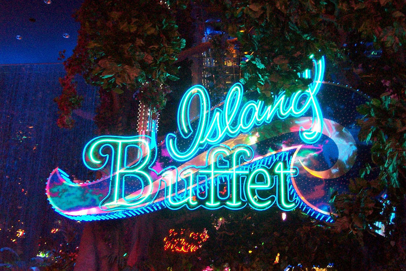 The main reason we come to the Peppermill is for the Island Buffet--one of the best in town!<br /> [Reno]