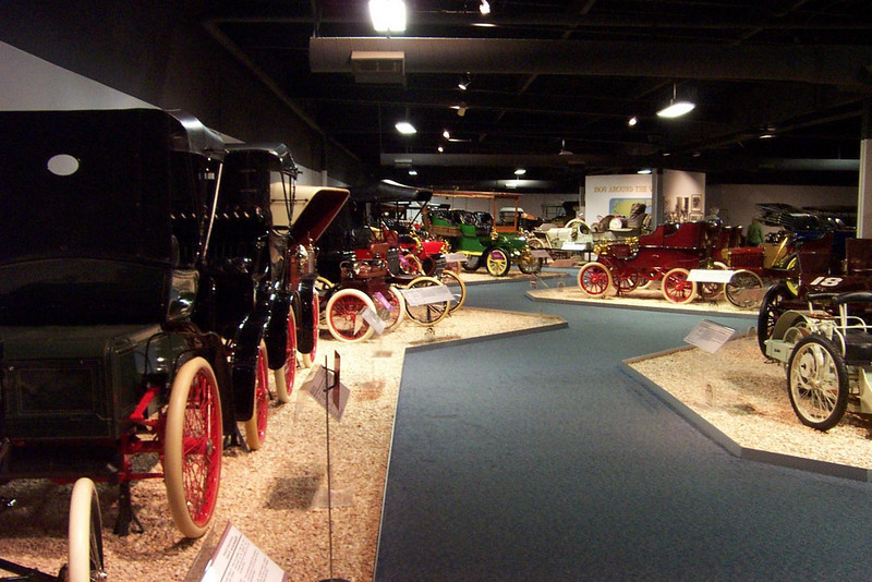 The museum is huge, and their collection of cars is amazing!<br /> [Reno - National Automobile Museum]