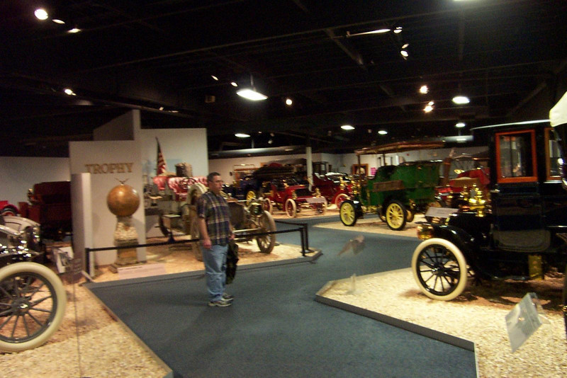 There are five separate galleries just packed with beautiful antique cars.<br /> [Reno - National Automobile Museum]