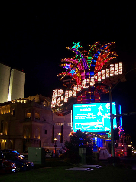 Here's the Peppermill's big sign on Virginia Street.<br /> [Reno]