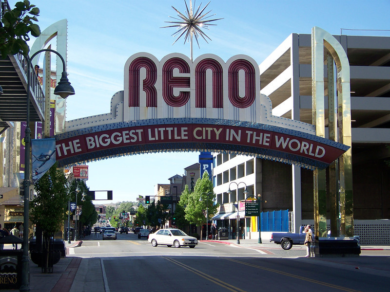 """Later Sunday afternoon, we made it to Reno, """"The Biggest Little City in the World""""!"""