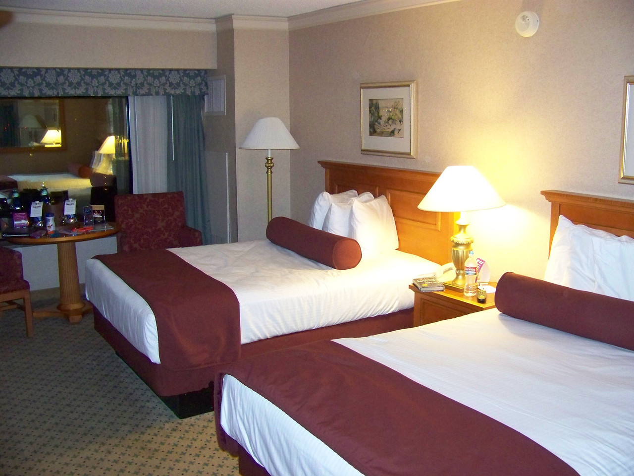 Here's my room in Harrah's east tower.  I was on the 22nd floor this time, in room 2259.<br /> [Reno]