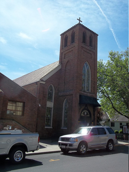 St. Joseph Catholic Church.  Dave went to mass here Sunday morning before we continued on to Reno.<br /> [Yreka, CA]