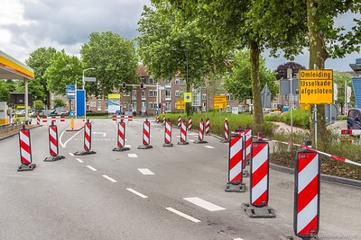 IJsselkade afgesloten
