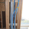 office cables, wires, furnace chimney