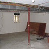 More demo.  Duct work, pipes, wires exposed.  Utility room walls removed.