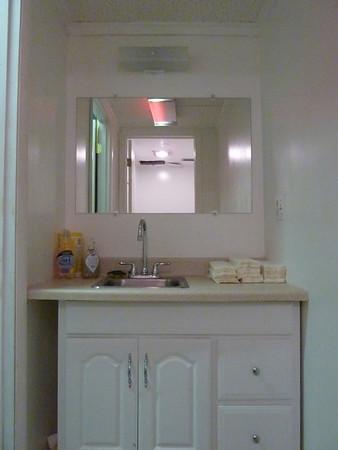 "The newer ""old"" bathroom backstage."