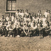 Sorry but I do not know the date nor names of many of the personnel on this photo.  Southern side of the dinning shed.