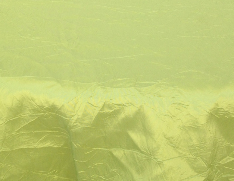 """Crushed Taffeta - Apple Available Linens: 132"""" Round"""